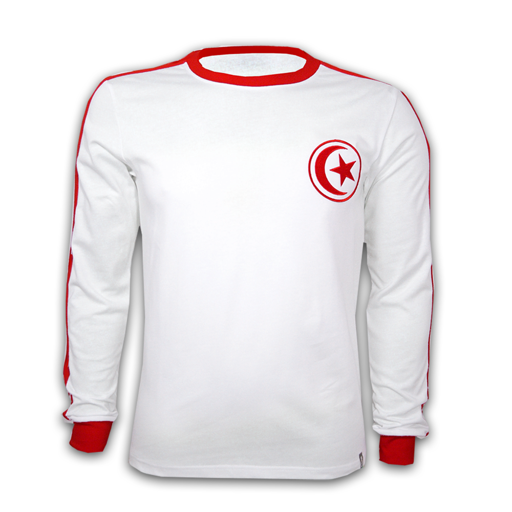 Copa Tunesia 1980's Long Sleeve Retro Shirt