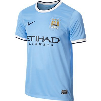 Manchester City home jersey youth 2013/14