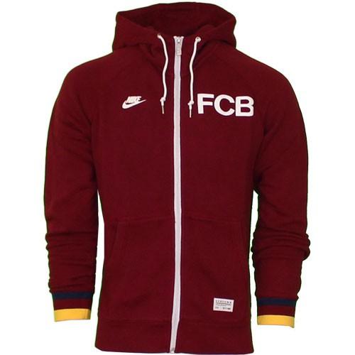FC Barcelona full zip hoody 2013/14