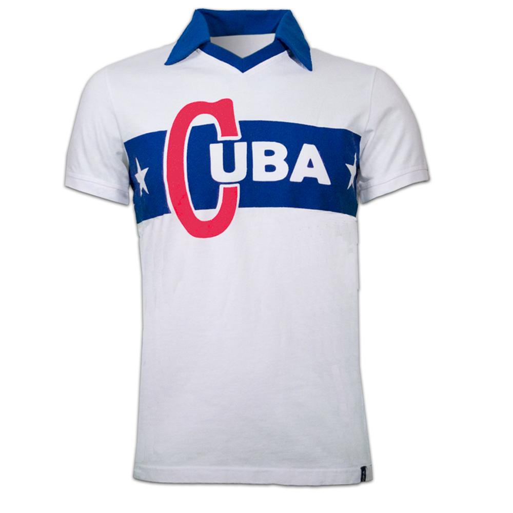 Copa Cuba 1962 Castro Short Sleeve Retro Shirt
