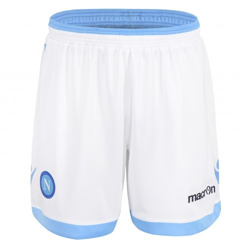 Macron Napoli home shorts 2013/14
