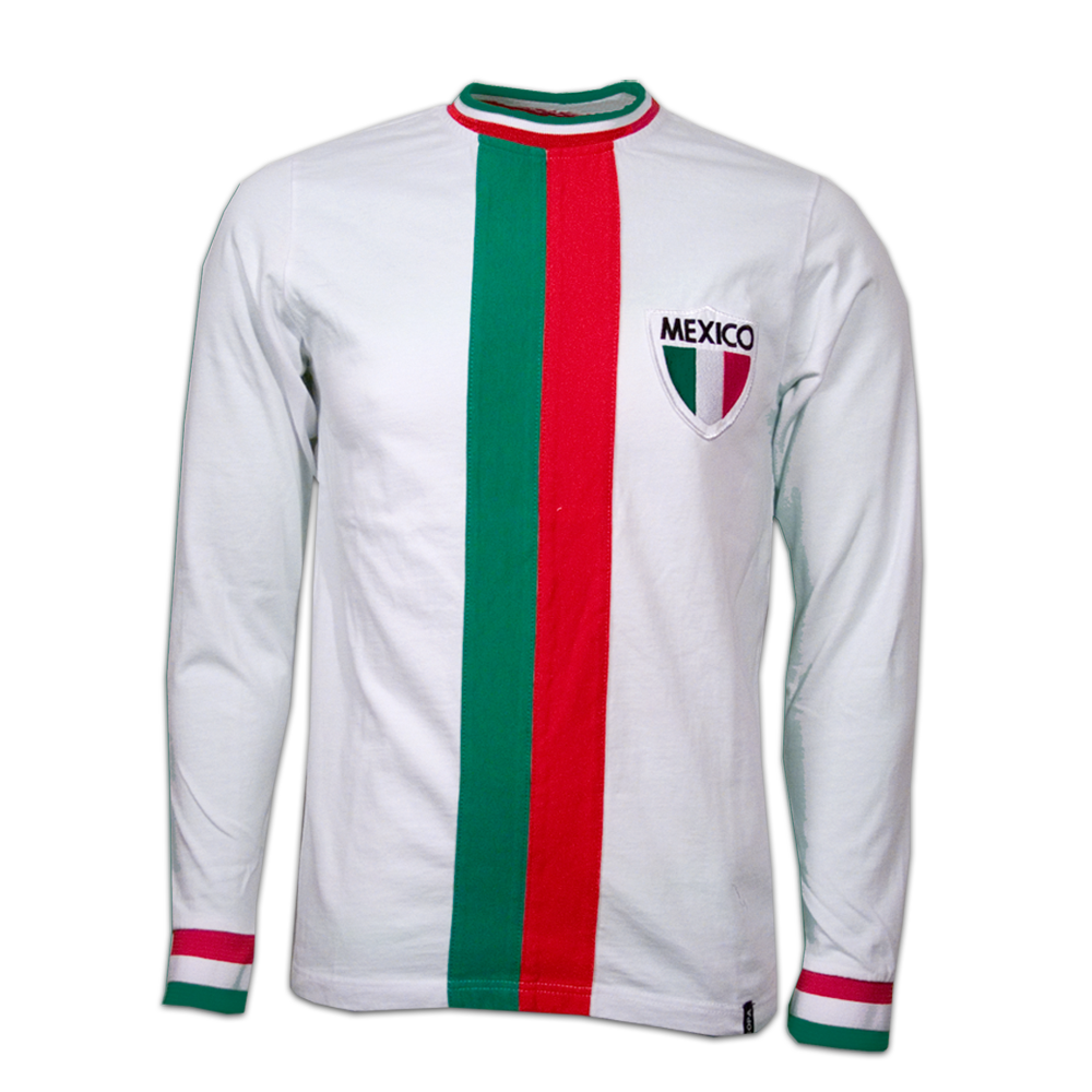 Copa Mexico Away WC 1982 Long Sleeve Retro Shirt