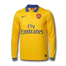 Arsenal long replica jersey 2013/14