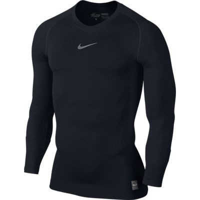 Nike Pro Combat long sleeve top - black