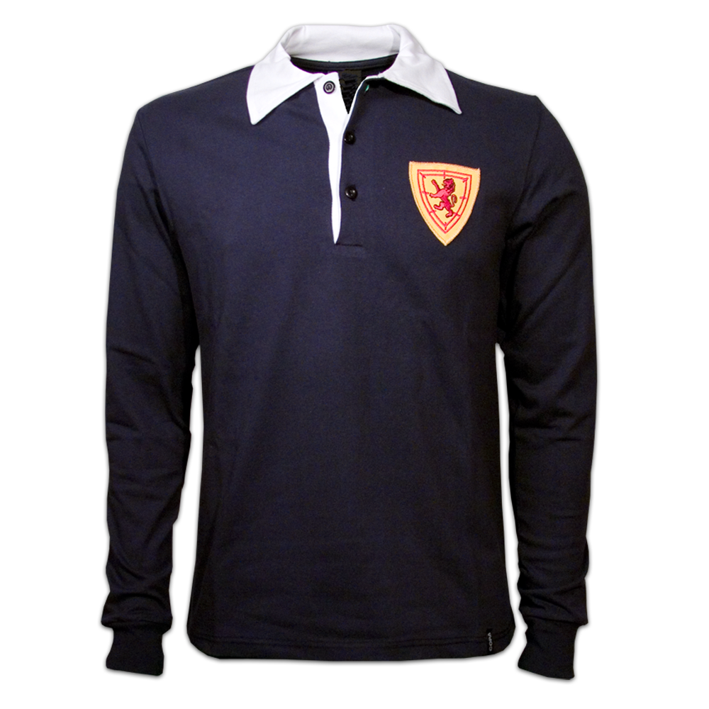 Copa Scotland 1950's Long Sleeve Retro Shirt