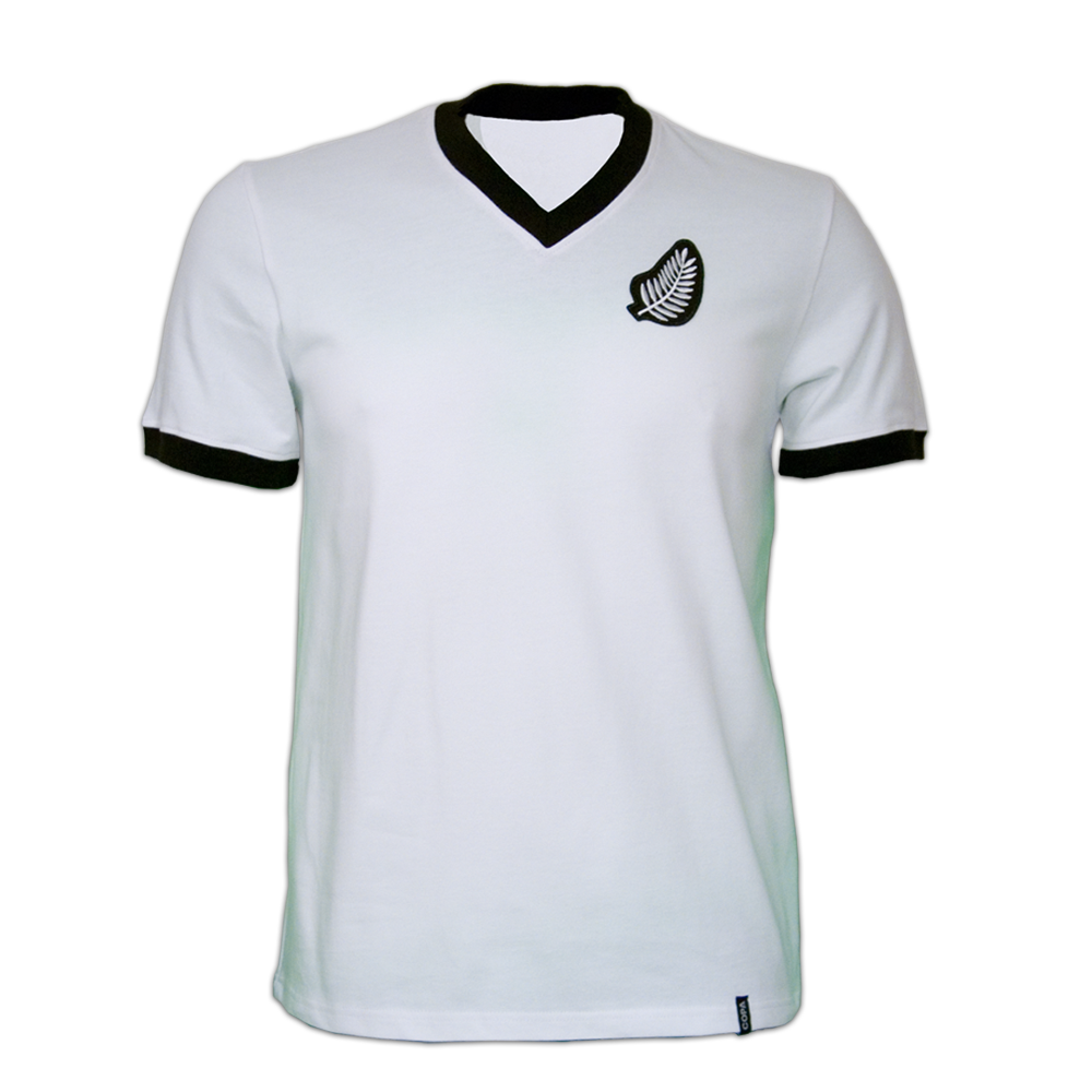 Copa New Zealand WC 1982 Short Sleeve Retro Shirt