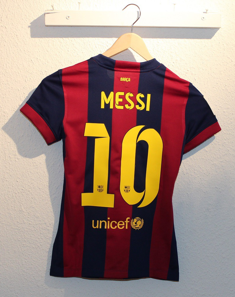 FC Barcelona home jersey 2014/15 - womens - Messi 10