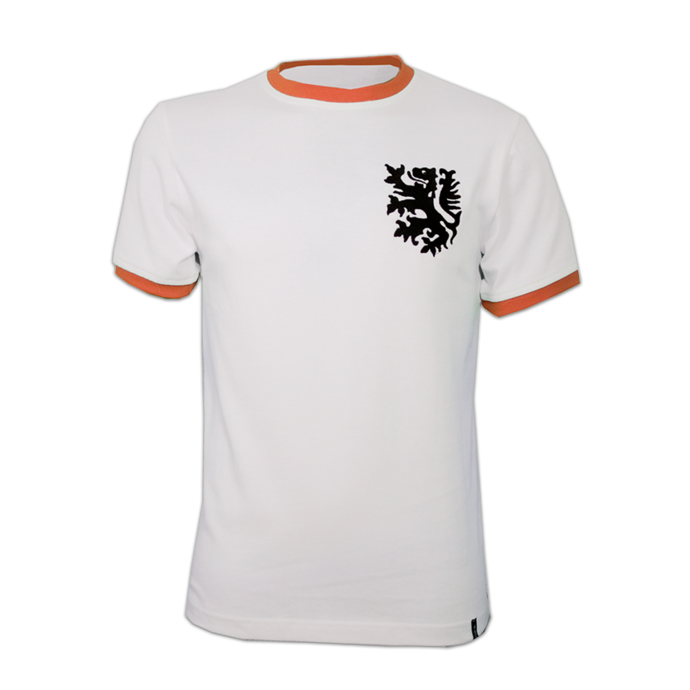 Copa Holland Away 1970's Short Sleeve Retro Shirt