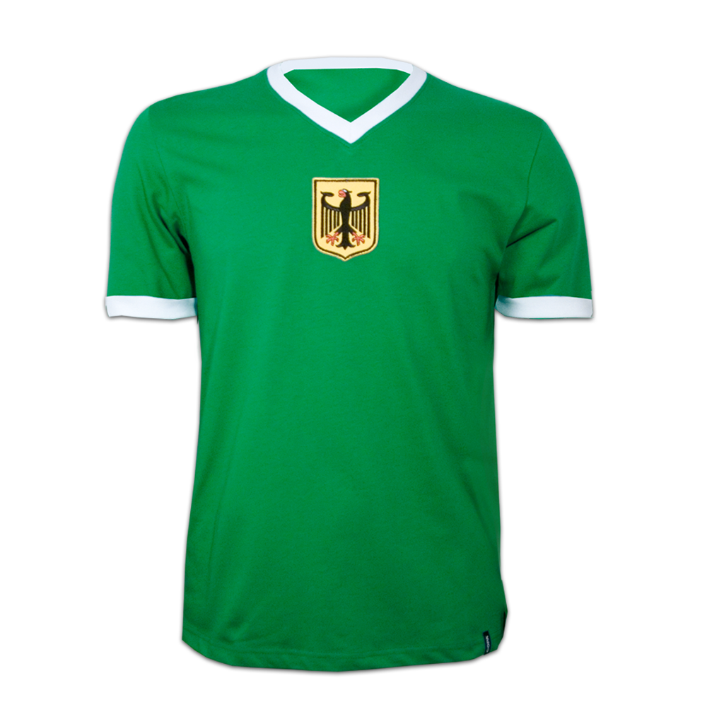 Copa Germany Away 1970's Short Sleeve Retro Shirt