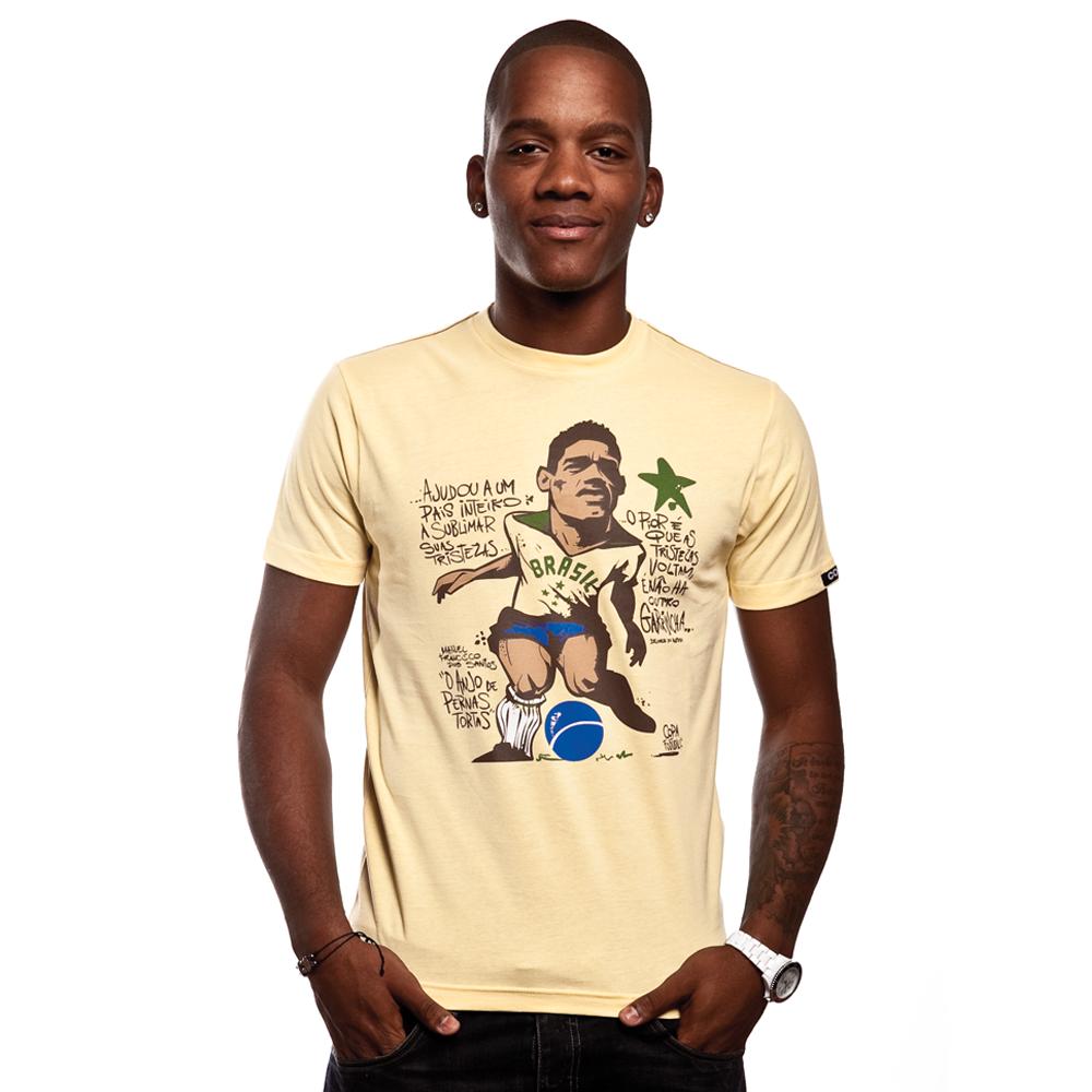 Copa Garrincha T-Shirt i farven lysegul
