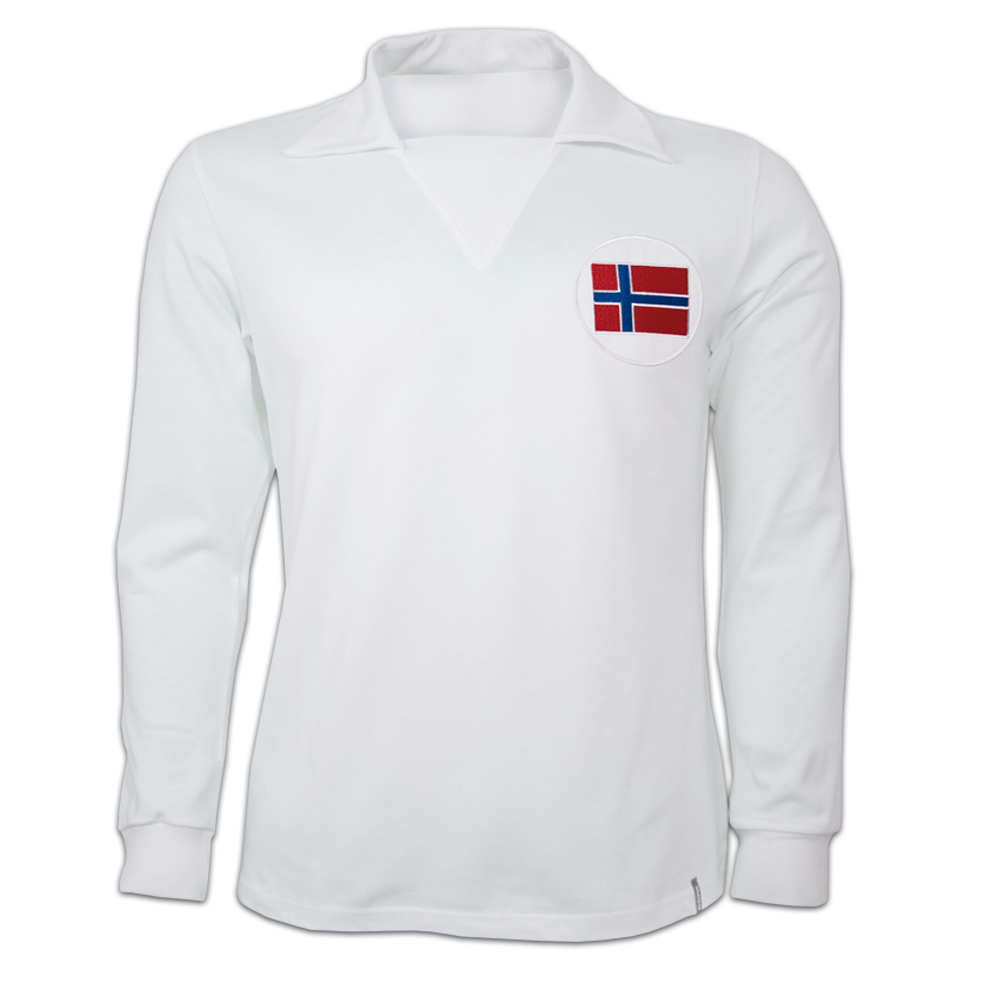 Copa Norway Away 1970's Long Sleeve Retro Shirt