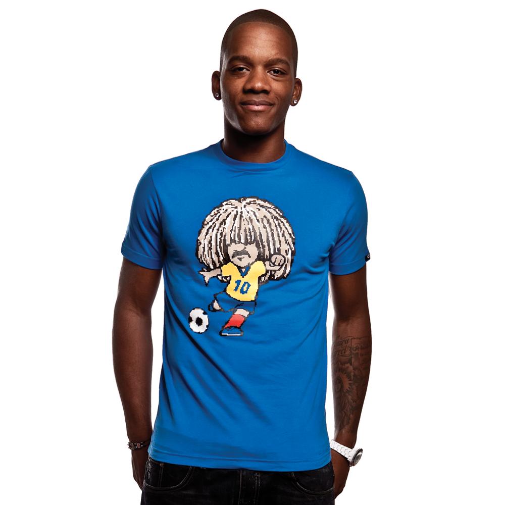 Copa Carlos T-Shirt i farven blå