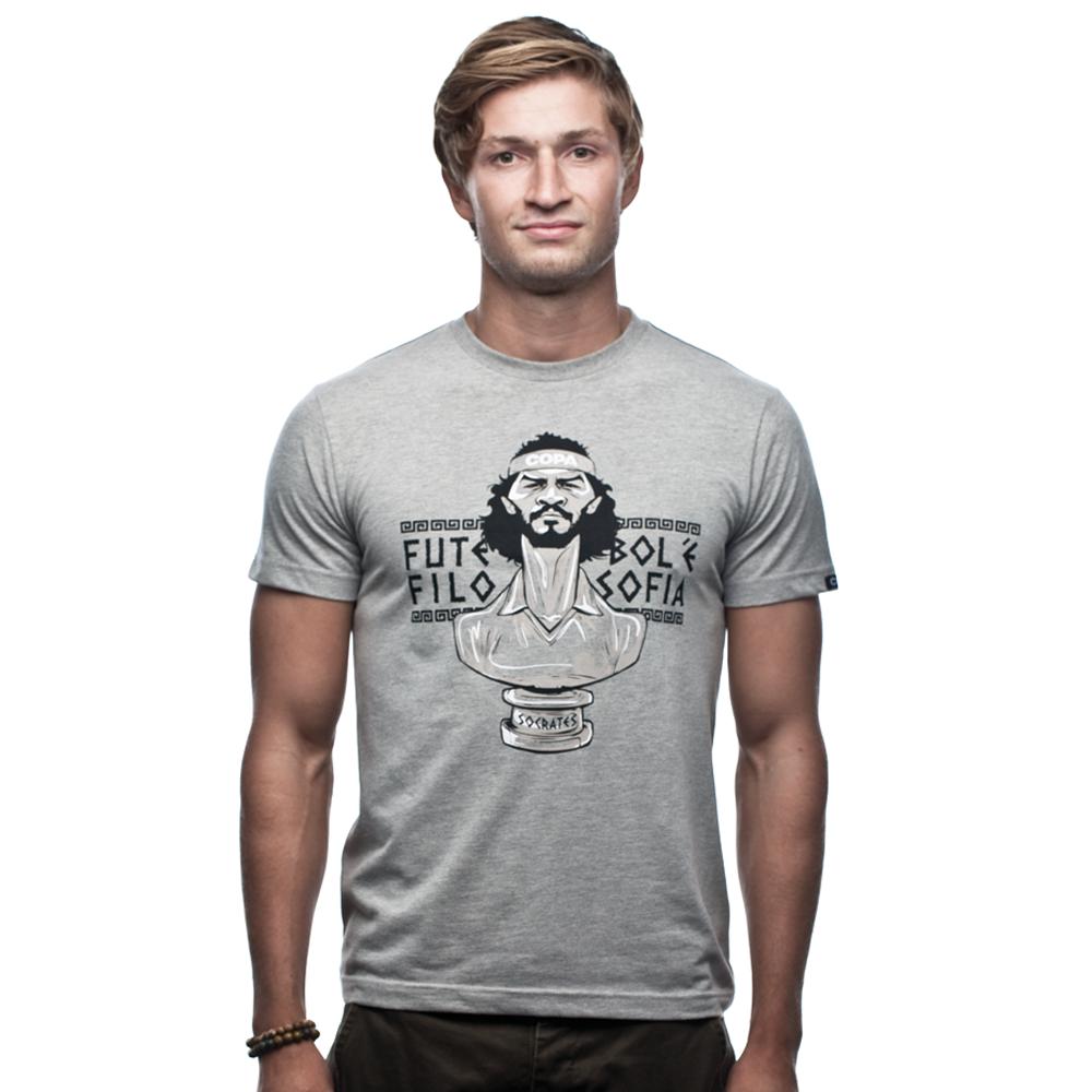 Copa Socrates T-Shirt // Grey Mêlée