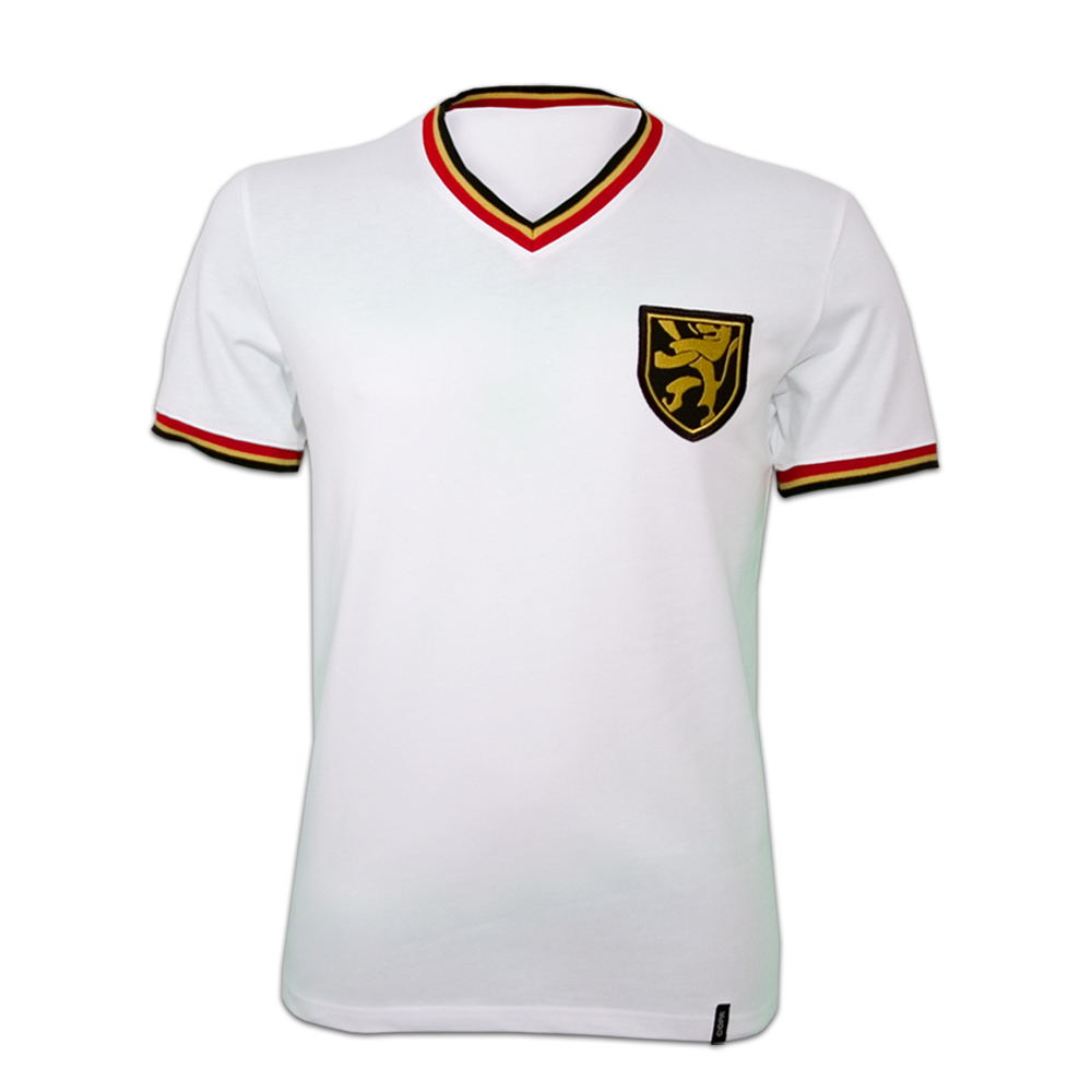 Copa Belgium Away 1970's Short Sleeve Retro Shirt