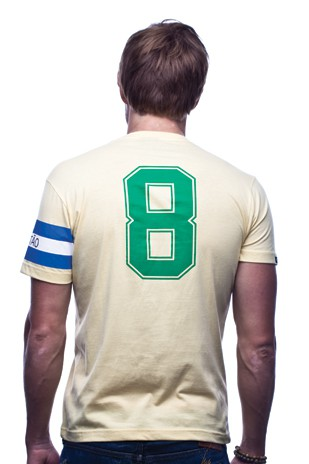 Copa Brasil Capitao T-Shirt // Yellow