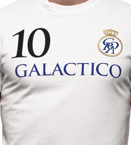 Copa Galactico T-shirt // White