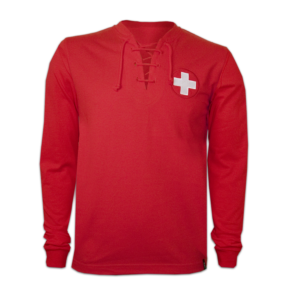 Copa Switzerland Wc 1954 Long Sleeve Retro Shirt