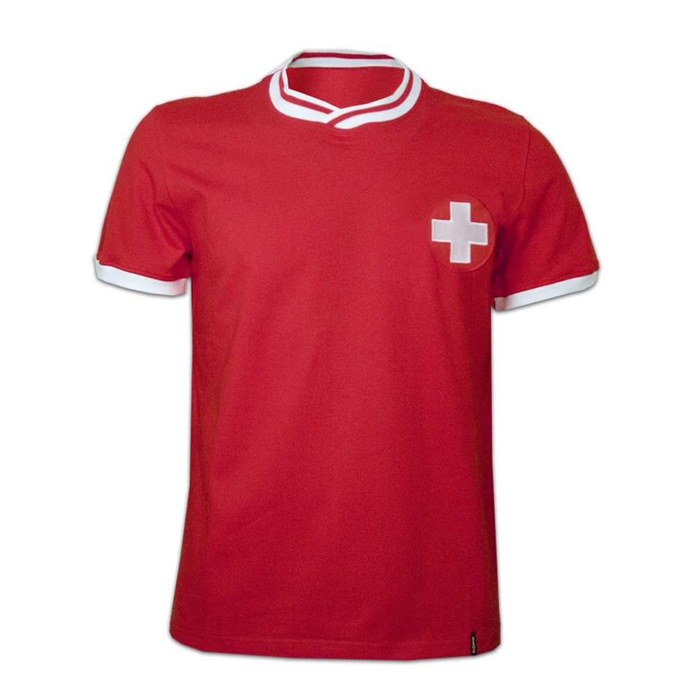 Copa Switzerland 1970's Short Sleeve Retro Shirt