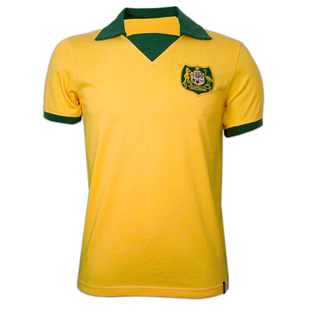 Copa Australia Wc 1974 Short Sleeve Retro Shirt