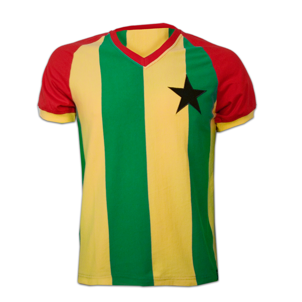 Copa Ghana 1980's Short Sleeve Retro Shirt