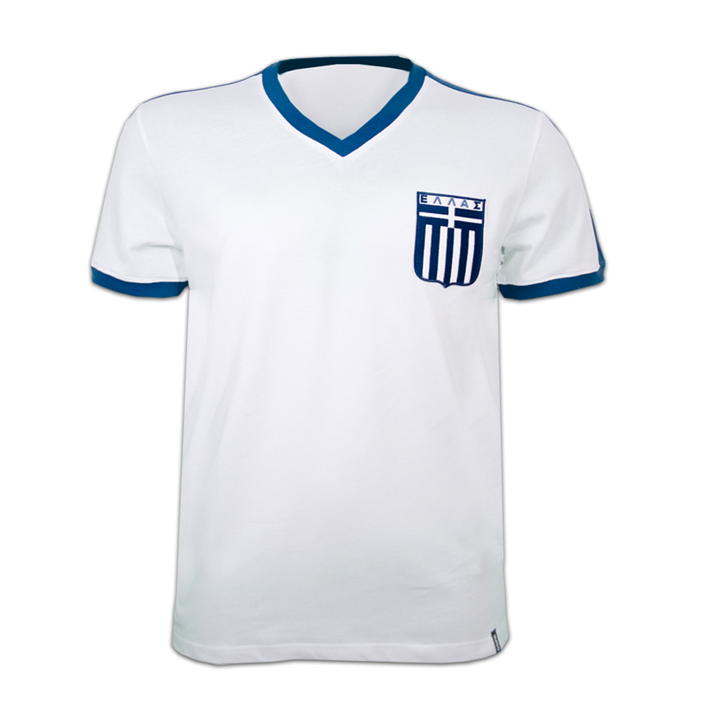 Copa Greece 1980 Short Sleeve Retro Shirt