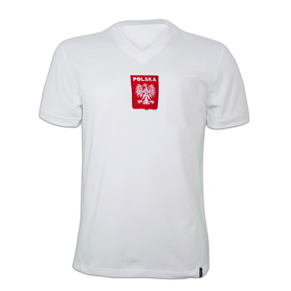 Copa Poland 1970's Short Sleeve Retro Shirt