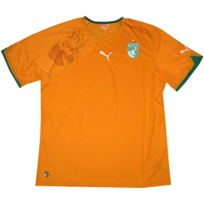 Ivory coast home jersey 2010