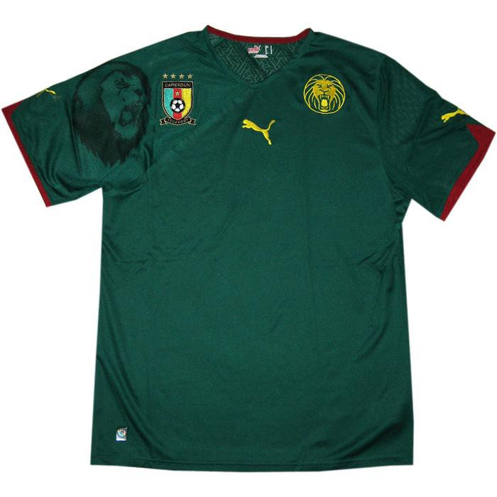 Cameroon home jersey 2010