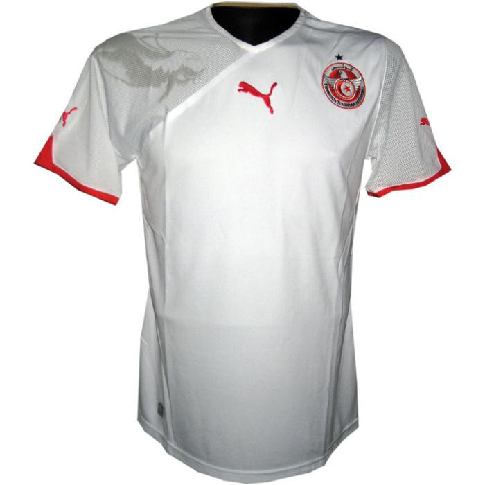 Tunesia home jersey 2010/12