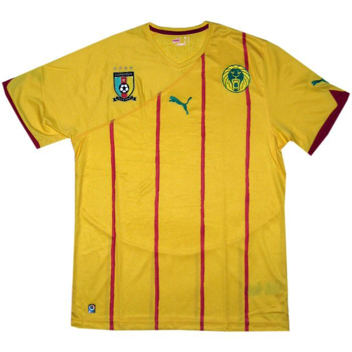 Cameroon away jersey 2013/14
