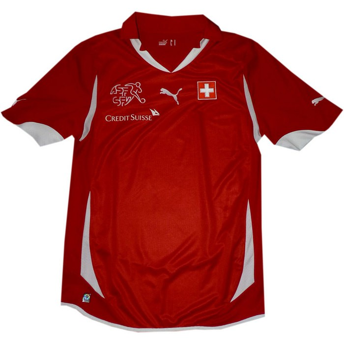 Switzerland home jersey 2010/12