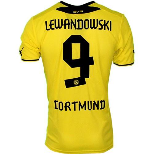 Dortmund home jersey 13/14 - lewan 9