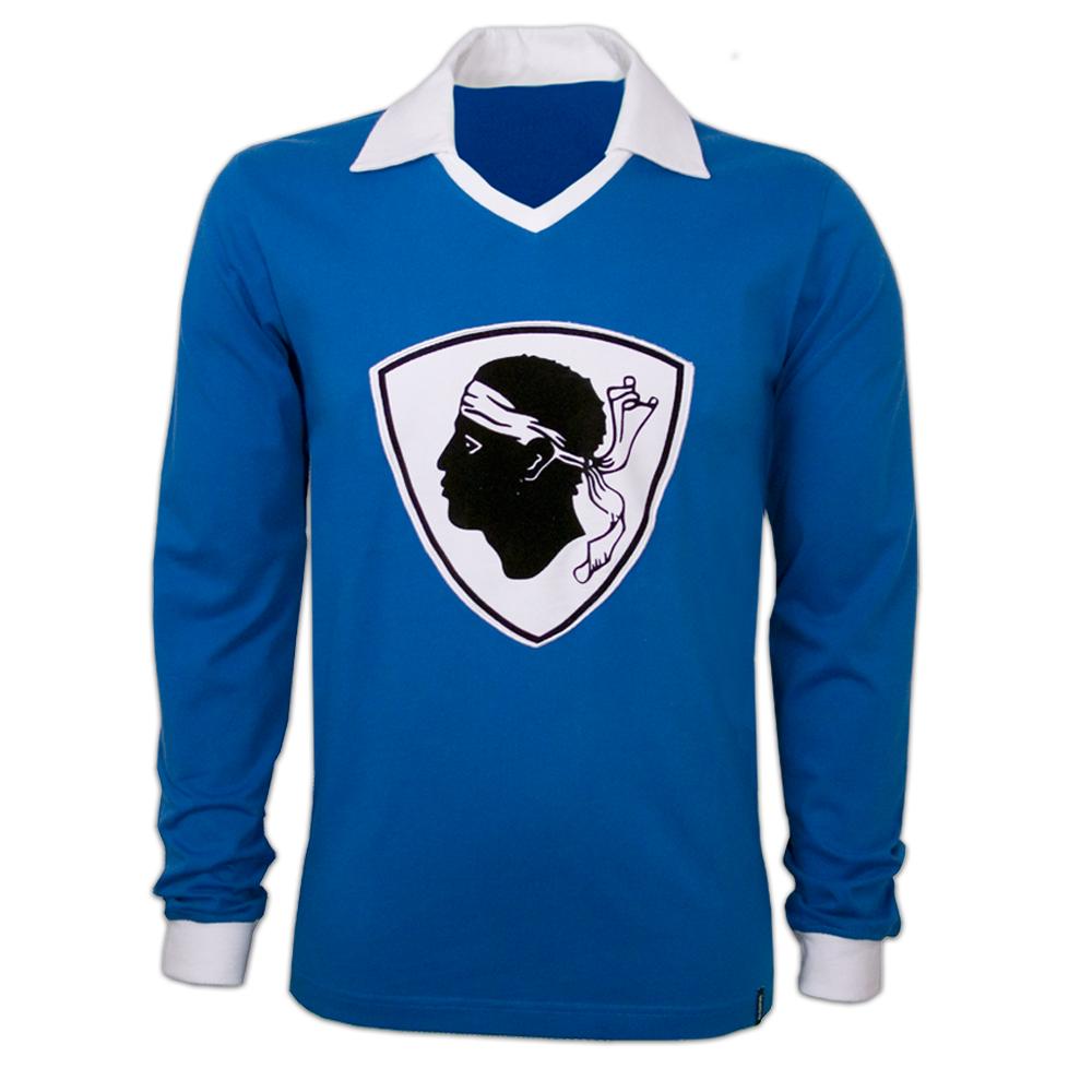 Copa Bastia 1977/78 retro trøje Lange Ærmer