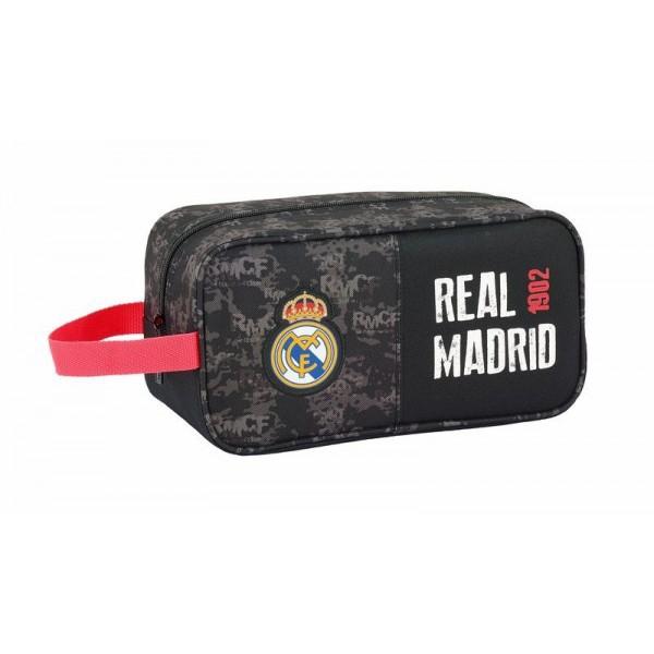 Real Madrid Toilet Bag 26X15X12 Black