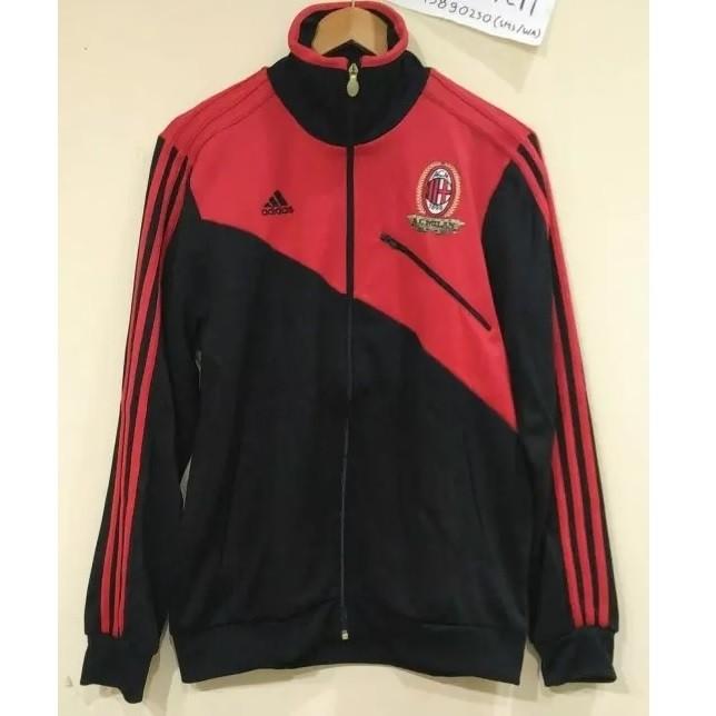 AC Milan track top - black red