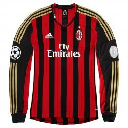 AC Milan home jersey UCL L/S 2013/14