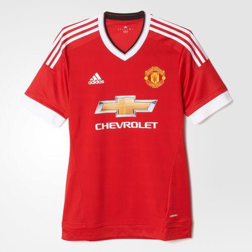 5756fff7542b Manchester United hjemme trøje adizero 2015 16 - voksen