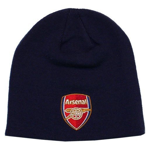 Arsenal beanie hat navy