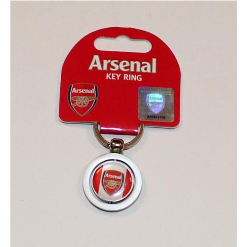 Arsenal keyring - round