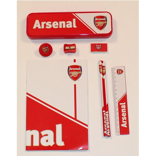 Arsenal stationary kit 8 pieces