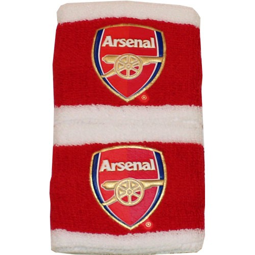 Arsenal writebands - red-white