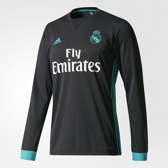 Real Madrid away jersey L/S - mens