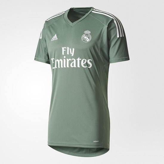 Real Madrid goalie jersey home