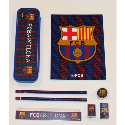 FC Barcelona 8 pieces school kit