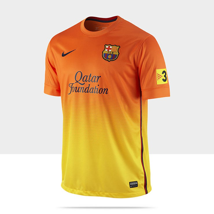 Barcelona udetrøje 2012-13