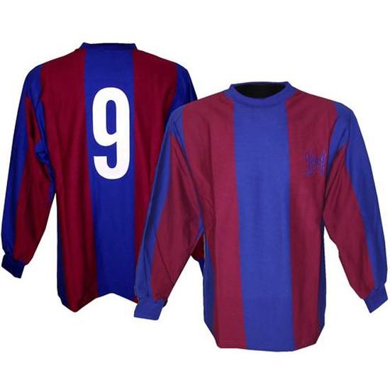 FC Barcelona retro jersey long sleeve 1970s - Cruyff 9
