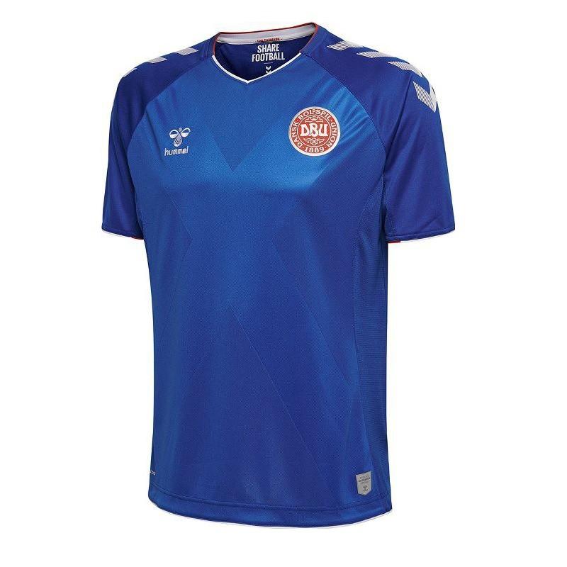 Denmark goalie jersey 2018 - blue