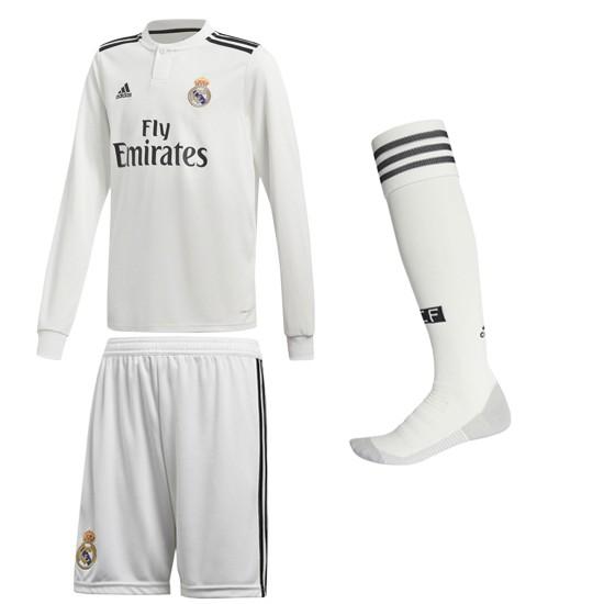 Real Madrid hjemme sæt L/Æ 2018/19 - youth