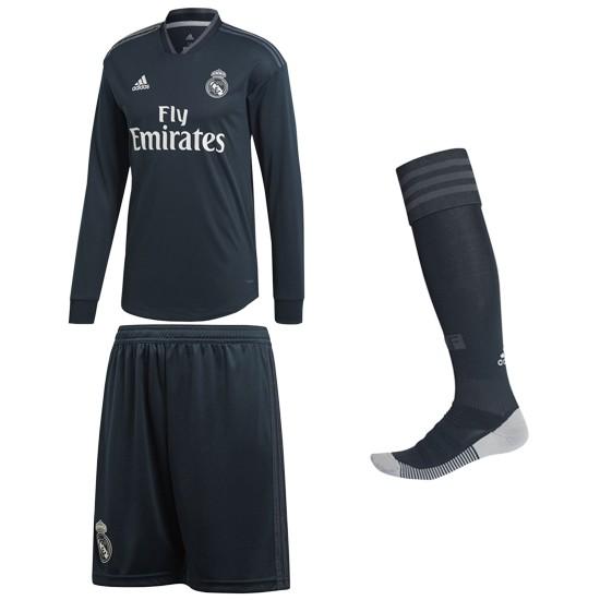 Real Madrid ude sæt L/Æ 2018/19 - børn