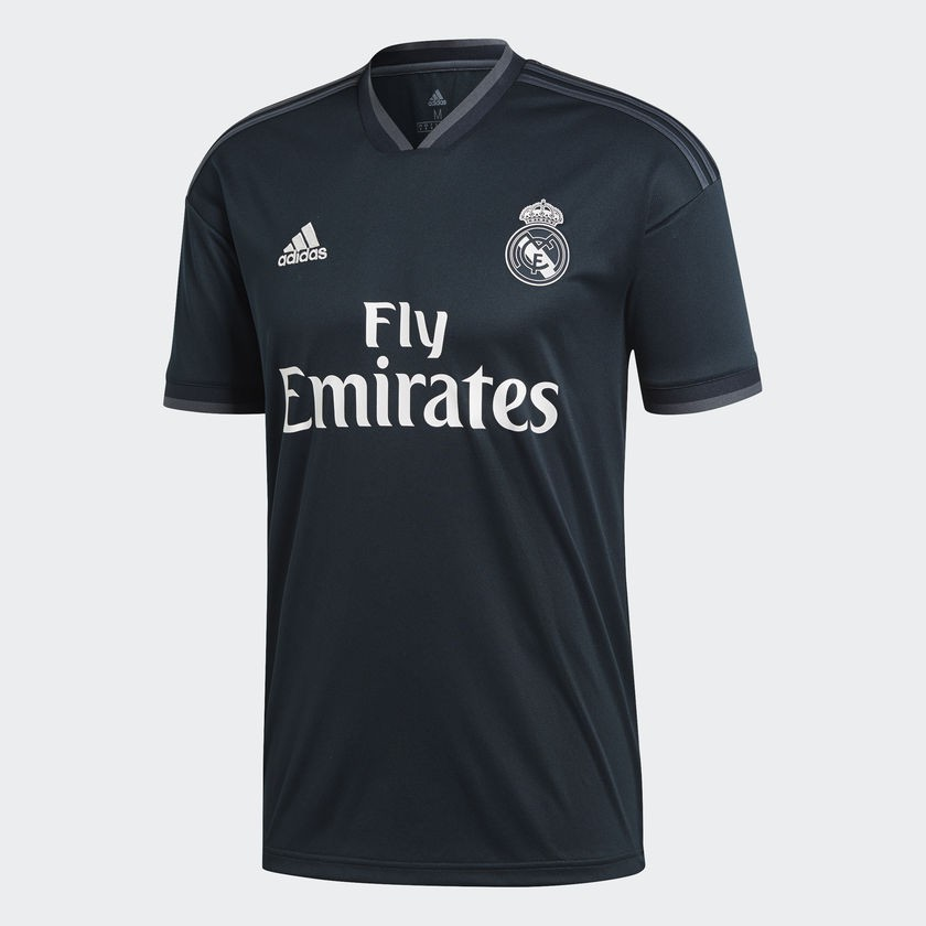Real Madrid away jersey - La Liga badge